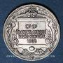 Coins Compagnie Générale Transatlantique Havre - New-York. 1900. Jeton argent