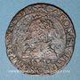 Coins Comté de Bourgogne. Saulnerie de Salins. Charles Quint. Jeton cuivre 1540