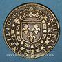 Coins Conseil du Roi. Louis XIII (1610-1643). Jeton laiton