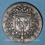 Coins Conseil du Roi. Louis XIV (1643-1715). Jeton cuivre n. d.