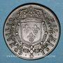 Coins Conseil du Roi. Louis XIV. Jeton cuivre 1661