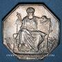 Coins Corps Notarial. Conseils régionaux. Rouen. Jeton argent