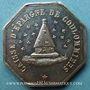 Coins Coulommiers. Caisse d'Epargne. Jeton argent oct.