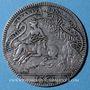 Coins Diane de Poitiers (1499-1566). Jeton argent 1561. R ! R ! R !