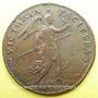 Coins Etats d'Artois. Bataille des Dunes. Louis XIV. Jeton cuivre