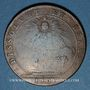 Coins Etats de Bourgogne. Félix Sonois, maire de Nuitz, élu du Thiers. Jeton cuivre 1701