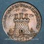 Coins Etats de Bourgogne. Jeton argent 1657