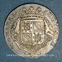 Coins Etats de Bourgogne. Jeton argent 1701