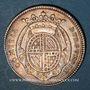 Coins Etats de Bourgogne. Jeton argent 1728