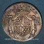 Coins Etats de Bourgogne. Jeton argent 1761