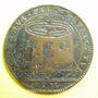 Coins Etats de Bourgogne. Jeton cuivre 1678