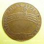 Coins Etats de Bourgogne. Jeton cuivre 1682