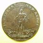Coins Etats de Bourgogne. Jeton cuivre 1688
