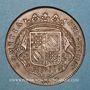 Coins Etats de Bourgogne. Jeton cuivre 1713
