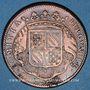 Coins Etats de Bourgogne. Jeton cuivre 1715