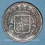 Coins Etats de Bourgogne. Jeton cuivre 1719