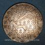 Coins Etats de Bretagne. Jeton argent n. d. (1641), à l'hermine passante.