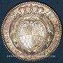 Coins Etats de Bretagne. Louis XV. Jeton argent 1756