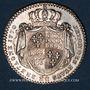 Coins Etats de Bretagne. Louis XV. Jeton argent 1770
