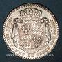 Coins Etats de Bretagne. Louis XV. Jeton argent 1772