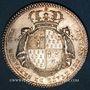 Coins Etats de Bretagne. Louis XV. Jeton argent 1782