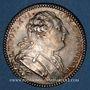 Coins Etats de Bretagne. Louis XVI. Jeton argent 1784