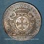 Coins Etats du Languedoc. Jeton argent 1713