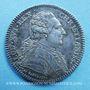 Coins Etats du Languedoc. Jeton argent 1785