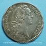 Coins Extraordinaire des Guerres. Louis XV. Jeton argent 1740