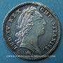 Coins Extraordinaire des Guerres. Louis XV. Jeton argent 1754