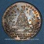 Coins Extraordinaire des Guerres. Louis XVI. Jeton argent 1778
