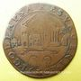 Coins Flandre. Albert et Isabelle (1598-1621). Jeton cuivre 1603