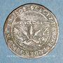 Coins Flandre. Bureau des Finances. Albert et Isabelle (1598-1621). Jeton cuivre 1601