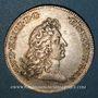Coins Flandre. Etats de Lille. Jeton argent 1677