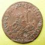 Coins Flandre. Philippe II (1555-1598). Jeton cuivre 1580
