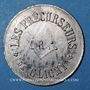 Coins Franc-maçonnerie. Clichy. Les Précurseurs. Jeton zinc nickelé, 25,5 mm