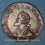 Coins Franche-Comté. Besançon. Chambre des comptes. Charles Quint. Jeton cuivre 1547