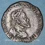 Coins Franche-Comté. Besançon. Chambre des comptes. Charles Quint. Jeton cuivre 1578