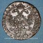 Coins Franche-Comté. Besançon. Chambre des comptes. Charles Quint. Jeton cuivre 1592