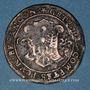 Coins Franche-Comté. Besançon. Chambre des comptes. Ferdinand II. Jeton cuivre 1627