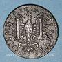 Coins Franche-Comté - Besançon. Co-gouverneurs. Charles Adolphe Louis Guillemin. Jeton cuivre 1667