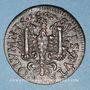Coins Franche-Comté - Besançon. Co-gouverneurs. Charles Bouvot. Jeton cuivre 1667