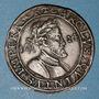 Coins Franche-Comté. Besançon. Co-gouverneurs. Daniel Chevanney. Jeton cuivre 1624