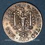 Coins Franche-Comté. Besançon. Co-gouverneurs. Hugues Belin. Jeton cuivre argenté 1669