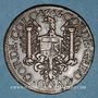 Coins Franche-Comté -Besançon. Co-gouverneurs. Jean-Frédéric Fiard. Jeton cuivre 1666