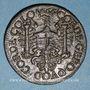 Coins Franche-Comté-Besançon. Co-gouverneurs. Jeton hybride frappé avec les revers des années 1665 et 1666