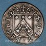 Coins Franche-Comté - Besançon. Co-gouverneurs. Marc Antoine Flusin. Jeton cuivre 1667