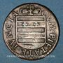 Coins Franche-Comté - Besançon. Co-gouverneurs. Pierre François de Jouffroy. Jeton cuivre 1667