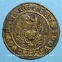 Coins Franche-Comté. Saulnerie de Salins. Jeton bronze, 16 e siècle