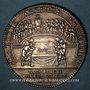 Coins Hainaut. Ville de Valenciennes. Jeton argent 1726